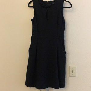 Beautiful black dress WITH pockets!